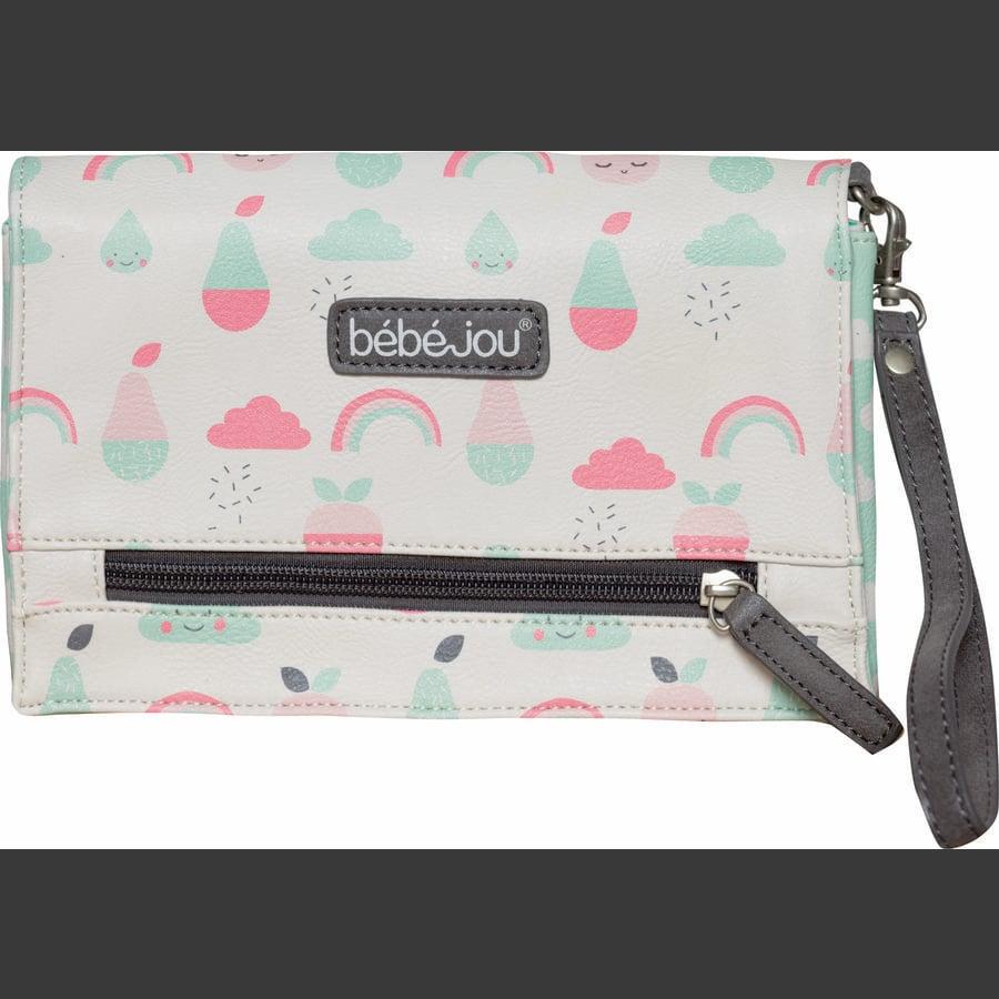 bébé-jou® Bleieetui Blush Baby Flamingo Pink