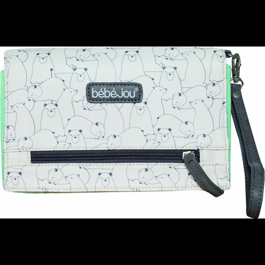 bébé-jou® Bletaske Design: Bo og Bing i mint