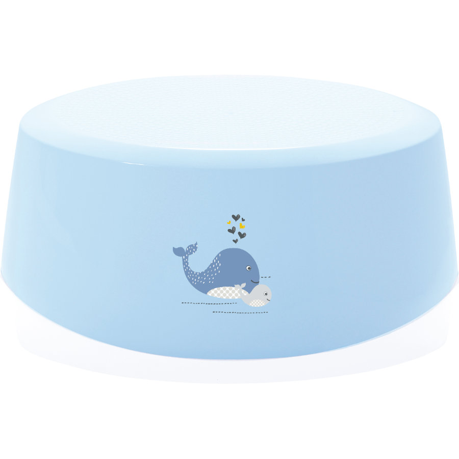 bébé-jou® Schemel Wally Whale blau