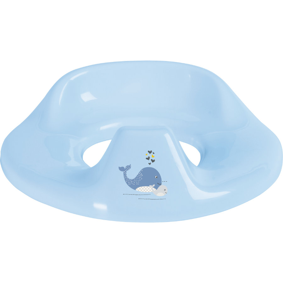 bébé-jou® Toiletzitje Design: Wally Whale in blauw