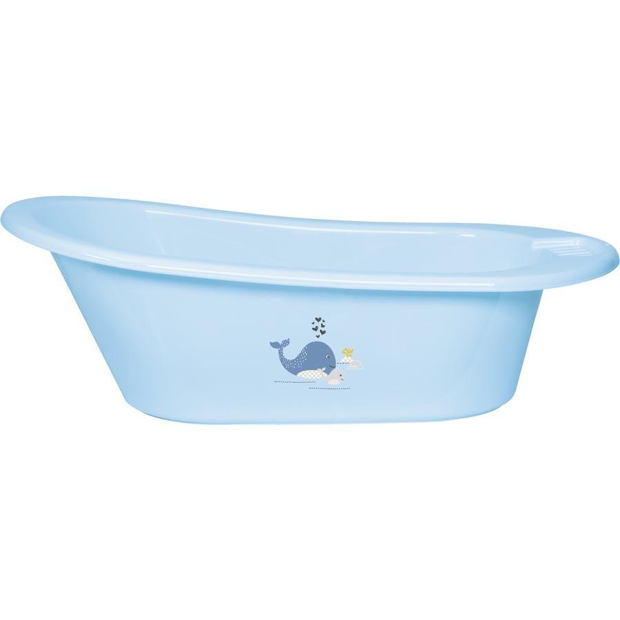 bébé-jou® Bañera infantil Wally Whale color azul