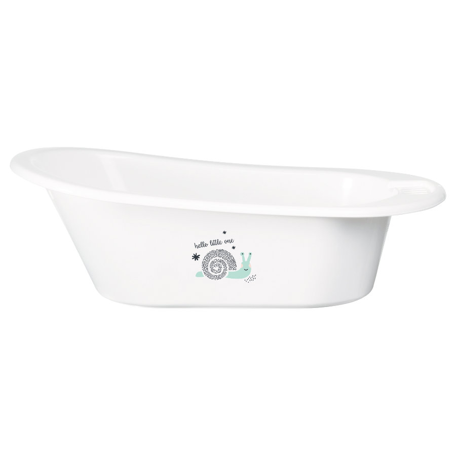 bébé-jou® Bañera infantil Click Hello Little One color Blanco