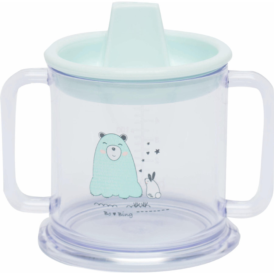 bébé-jou® Mugg, 200 ml Design: Bo und Bing in mint