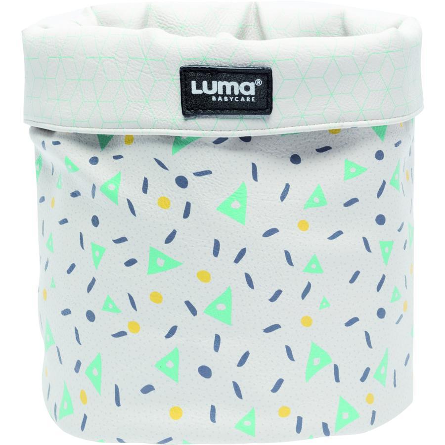 Luma® Babycare Panier de rangement pour lange,  Shapes Mint