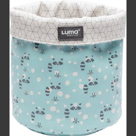Luma® Babycare Cesta de tela Design: Racoon Mint small