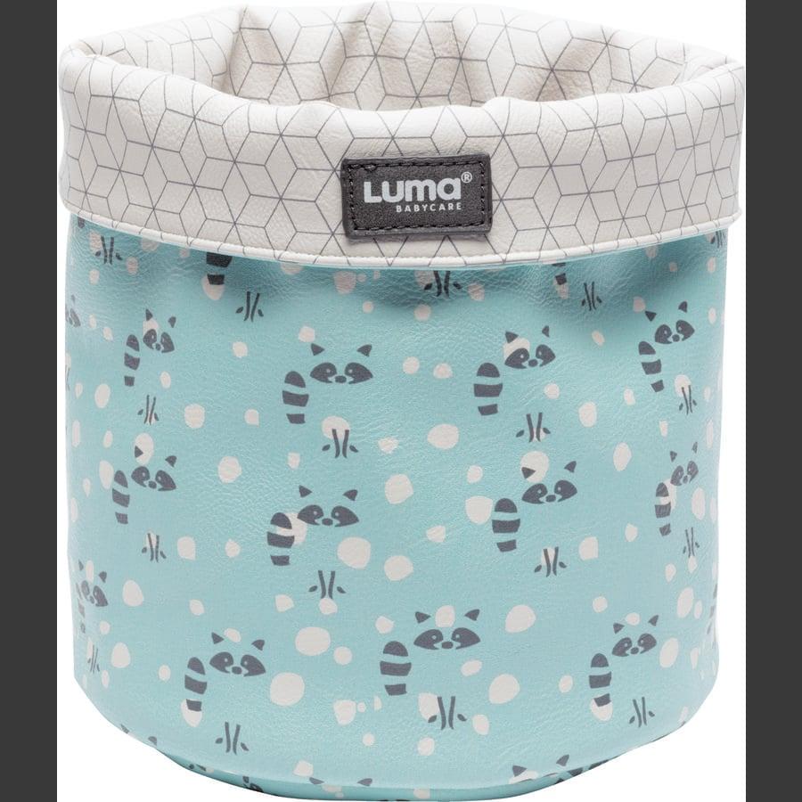 Luma® Babycare stellekurv mint med vaskebjørner small