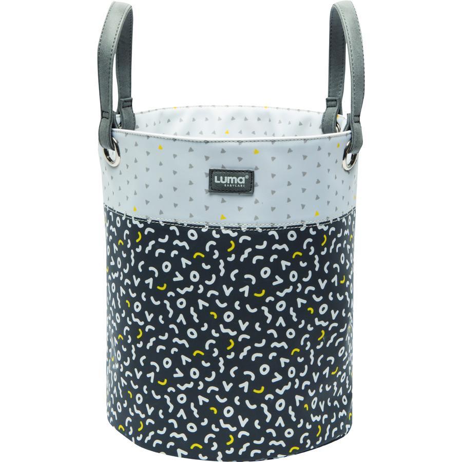 Luma® Babycare leketøyskurv grå large