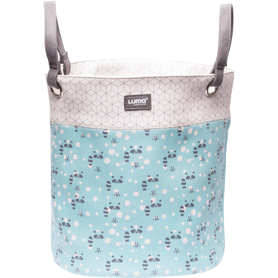 Luma® Babycare Leksakskorg Design: Racoon Mint small