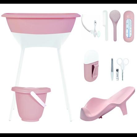 Luma® Babycare sada pro péči a koupel, vzor: Cloud Pink