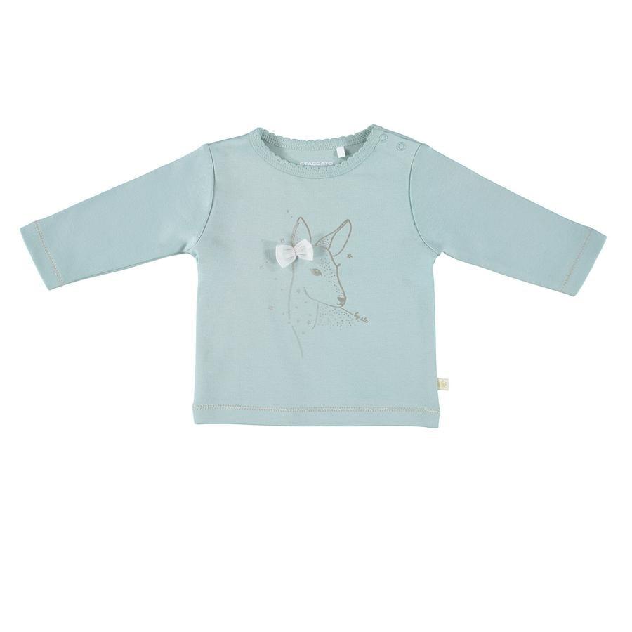 STACCATO Langarmshirt dark mint