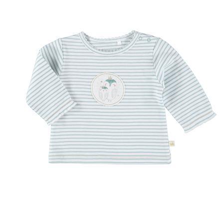 STACCATO Langærmet shirt med striber mint