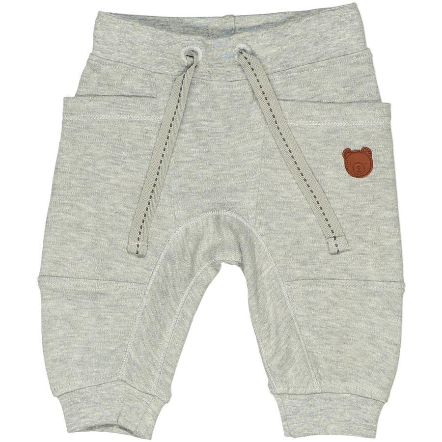 STACCATO Spodnie dresowe szare melanżowe neppy