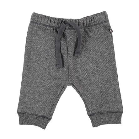STACCATO spodnie joggingowe ciemny grafitowy melange