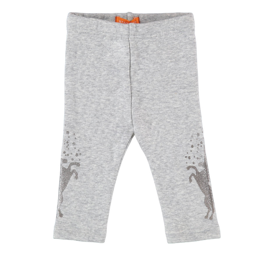 STACCATO Girls Thermo - Leggings mid grey melange