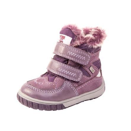 Lurchi Girl s Buty dziecięce Jaufen-Tex purpurowe (średnie)