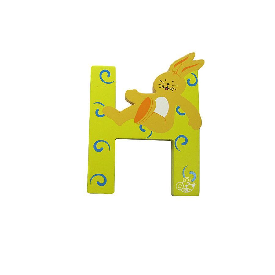 SPIELMAUS Holzbuchstabe H