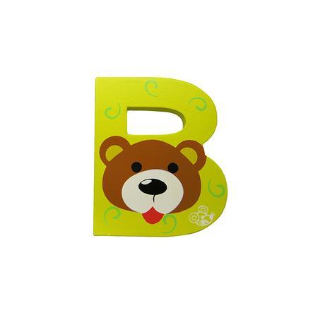 SPIELMAUS Wooden Letter B