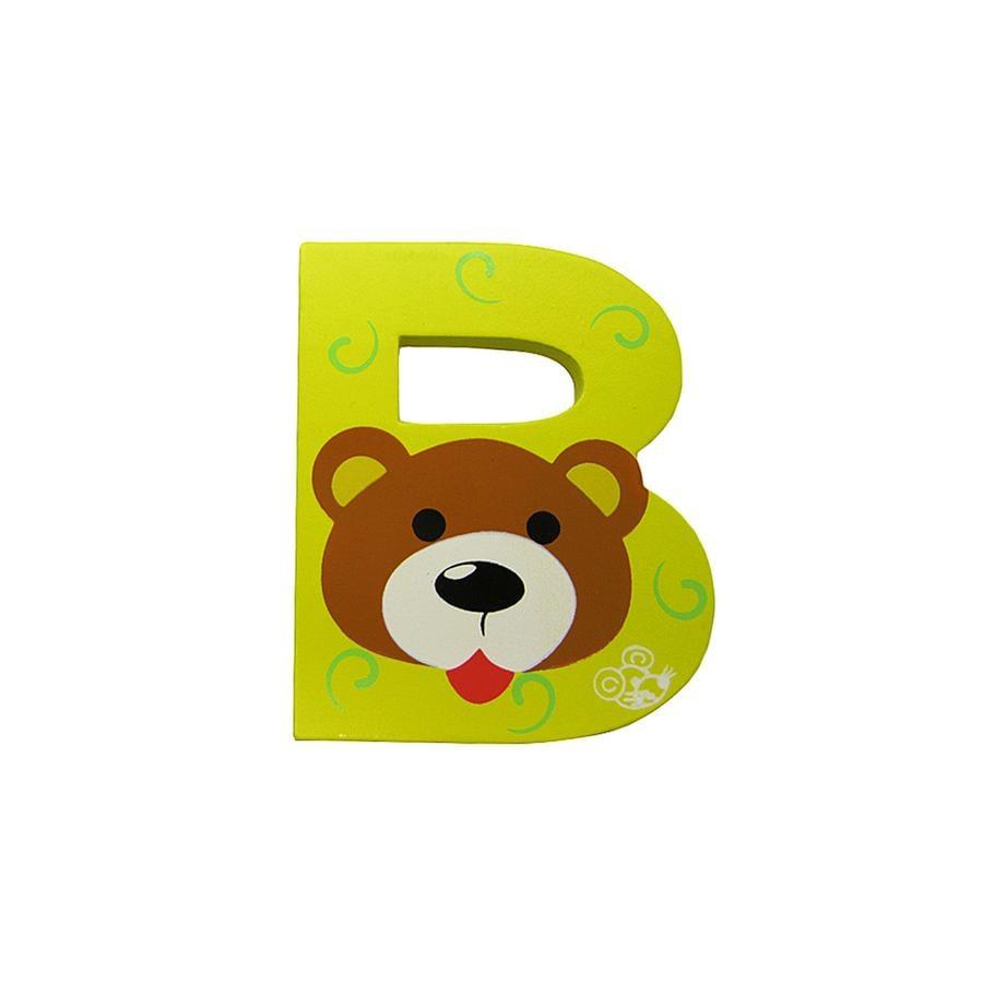 SPIELMAUS dřevěné písmenko B