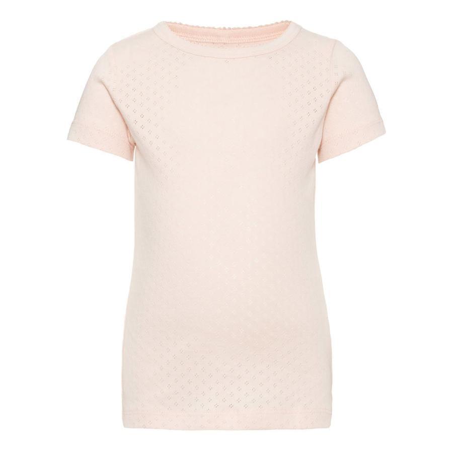 name it Girls T-Shirt Vitte pink dogwood