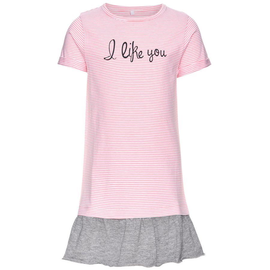 name it Girls Kleid Jump flamingo pink