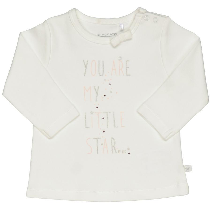 STACCATO Overhemd met lange mouwen gebroken wit