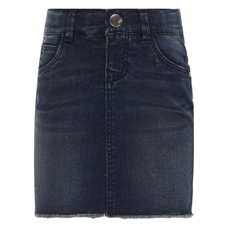 name it Girl s spijkerrok medium blauw denim