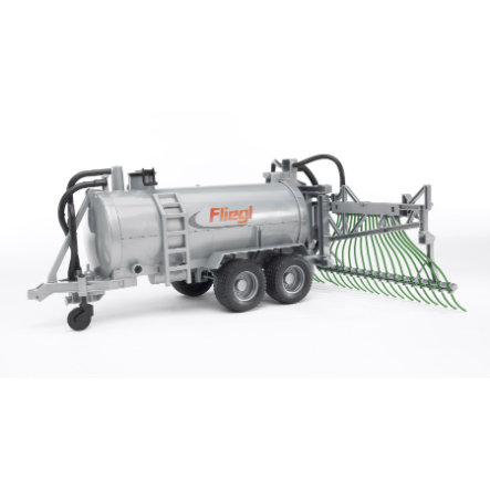 BRUDER® Fliegl Barrel Trailer with Spread Tubes 02020