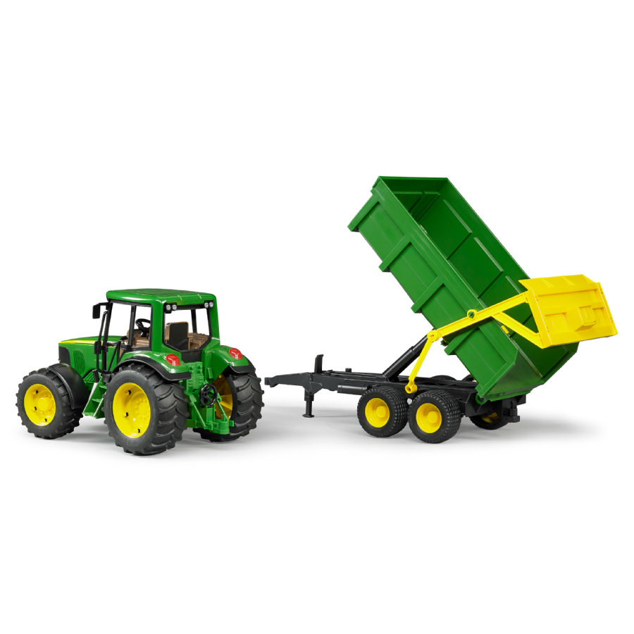 BRUDER®John Deere 6920 with Tipping Trailer 02058