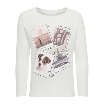 name it Girl camicia manica lunga s manica lunga bianco neve
