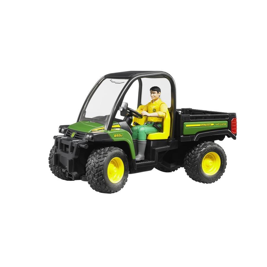 BRUDER® John Deere Gator XUV 855D med förare 02490