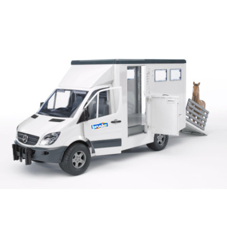 BRUDER® Mercedes Benz Sprinter Diertransporter 02533