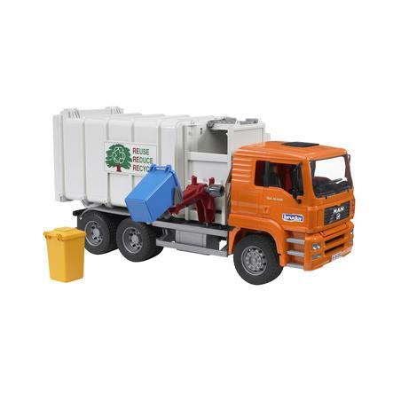 BRUDER® MAN TGA Vuilniswagen Zijlader 02761