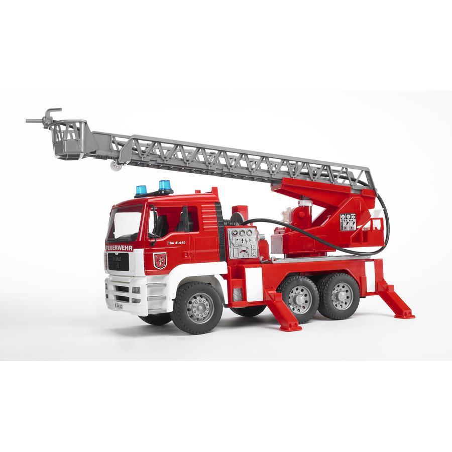 Bruder® MAN Feuerwehr mit Drehleiter 02771 -