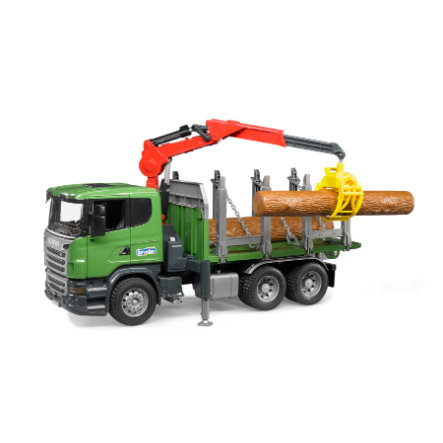bruder® Scania R-Serie Camión de transporte de madera 03524