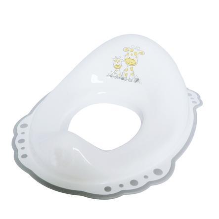 bieco Réducteur de toilette antidérapant Girafe, blanc
