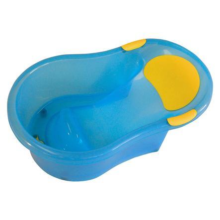 bieco Baignoire enfant, transparente, bleu
