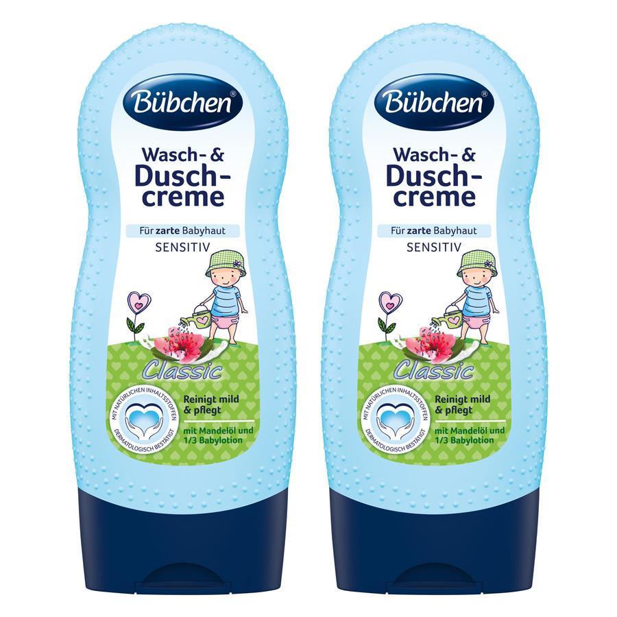 Bübchen Wasch- & Duschcreme Classic 2 x 230 ml