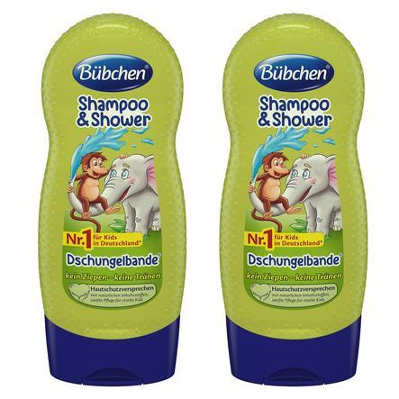 Bübchen Shampoo und Shower Dschungelbande 2 x 230 ml