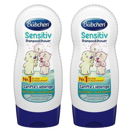 Bübchen Shampoo & Shower Sanfte Lieblinge 2 x 230 ml