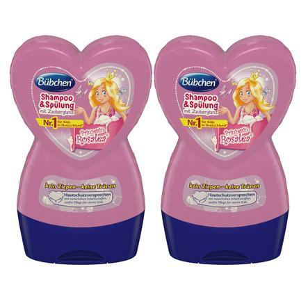 Bübchen Shampoo & Spülung Prinzessin Rosalea 2 x 230 ml