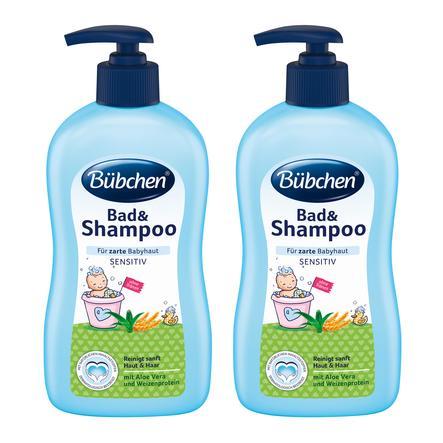 Bübchen Bad und Shampoo 2 x 400 ml