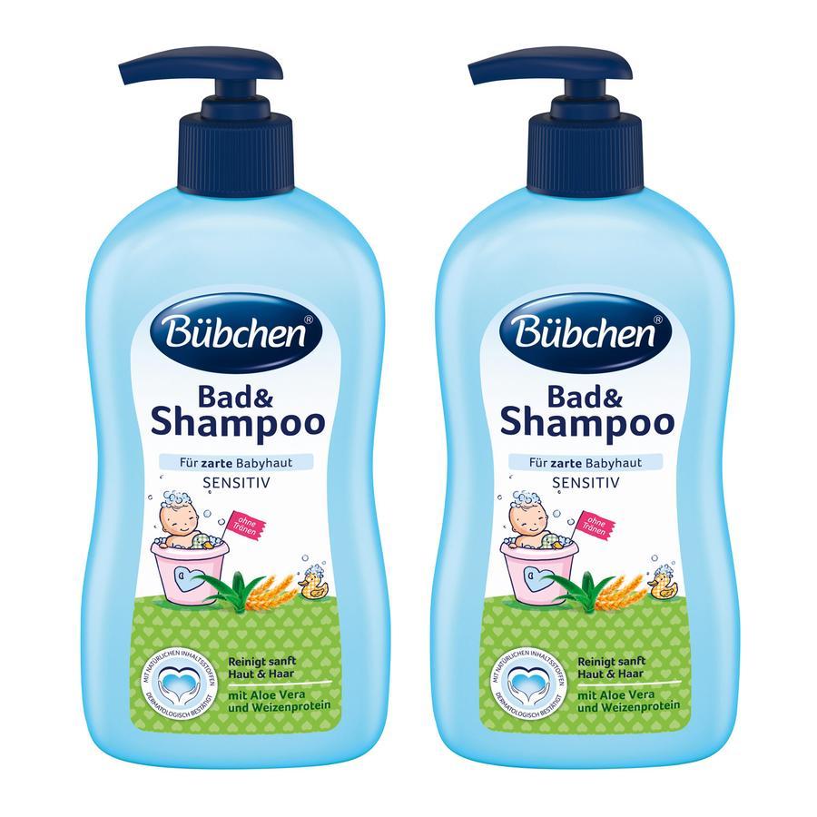 Bübchen Bad & Shampoo 2 x 400 ml