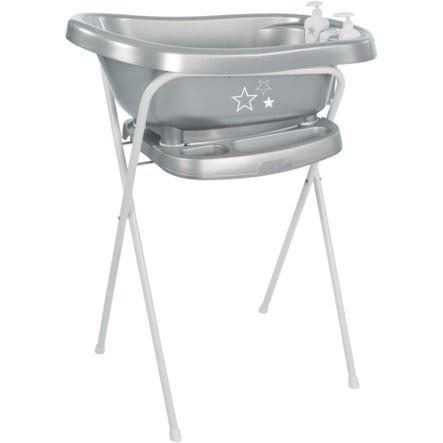 bébé-jou® Wannenständer Click Silver Stars silber 103 cm