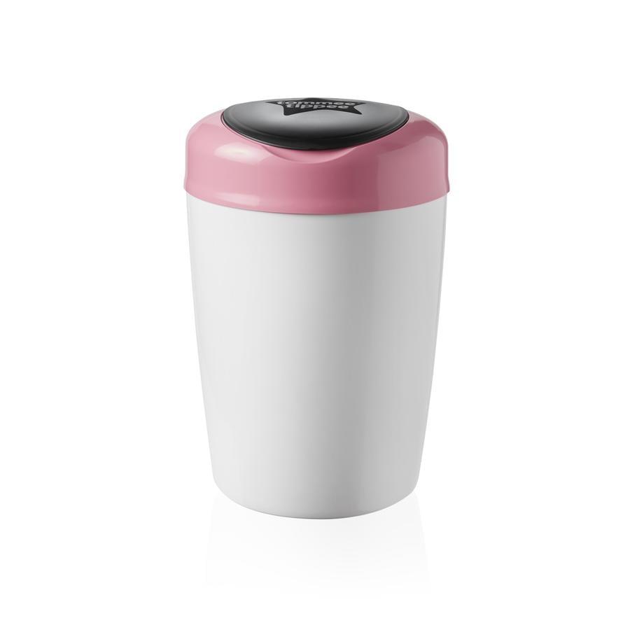 Tommee Tippee kbelík na pleny Sangenic Simplee bílá / růžová