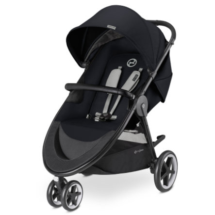 cybex GOLD Kinderwagen Agis M-Air 3 Lavastone Black-black