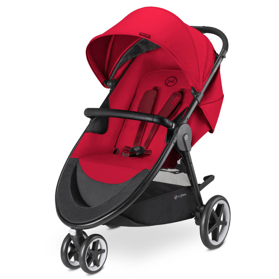cybex GOLD Pushchair Agis M-Air 3 Rebel Red-red