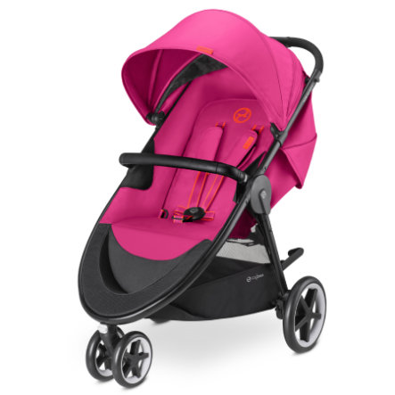 cybex GOLD Kinderwagen Agis M-Air 3 Passion Pink-purple