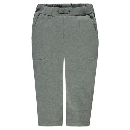 Steiff Boys pantalon de survêtement, gris moucheté