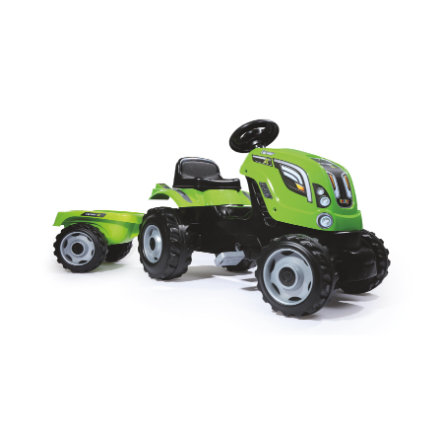 SMOBY Traktor Farmer XL grøn med anhænger