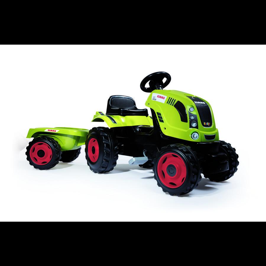 SMOBY Traktor Farmer XL CLAAS ARION 400 s přvěsem